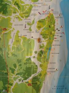 Mapa de Barra Grande - BA