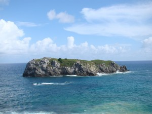 Pedra do Leão - Na praia do Leão