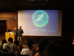 Projeto Golfinho Rotador - Palestra no Projeto Tamar