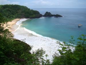 Vista do Mirante da Praia do Sancho