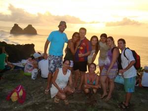 Galera que participou do Ilha Tour