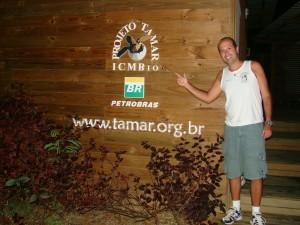 Sede do Projeto Tamar em Noronha