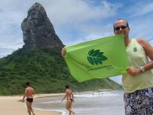 Praia da Conceição - Morro do Pico ao fundo