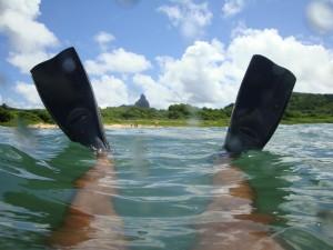 Mergulho na Baía do Sueste