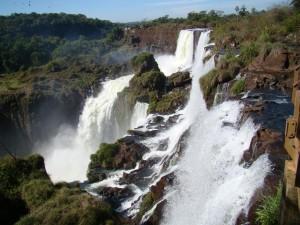 Cataratas Argentinas no Parque Nacional Iguazú