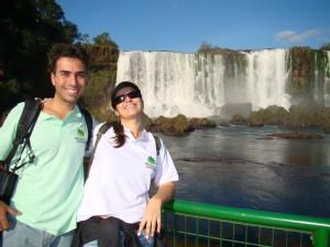 Foz do Iguaçu - Nas passarelas brasileiras