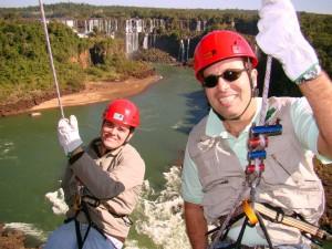 Foz do Iguaçu - Rapel de 55 metros!