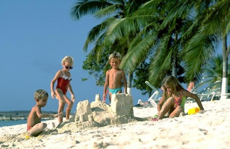 Aruba também para as crianças