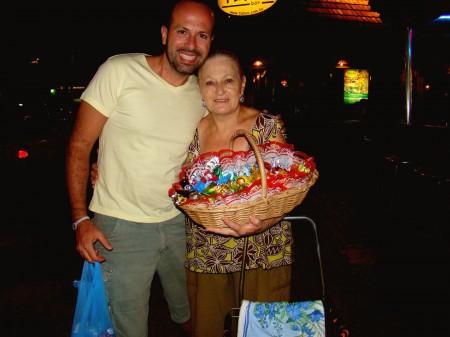 Dona Margarida e sua cesta de bombons, Bonito - MS