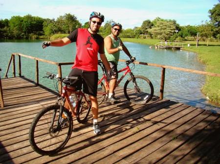 Deck no início da pedalada, Bonito - MS