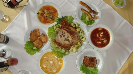Restaurante O Casarão - Rodízio de Peixes e Jacaré