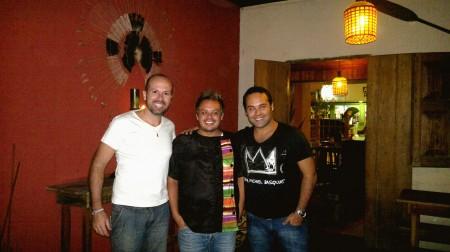 Com o Chef Carlos do Restaurante Oca Bar, em Bonito - MS