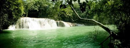 Cachoeira do Sol no Parque das Cachoeiras, Bonito - MS