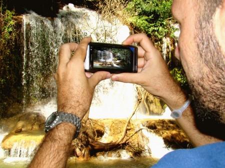 A foto da foto - Parque das Cachoeiras, Bonito - MS