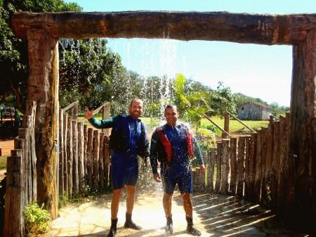 Equipados para o passeio no Rio Sucuri, Bonito - MS