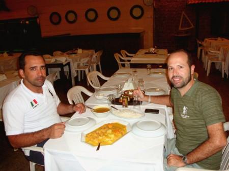 Peixada com Legumes e Pirão