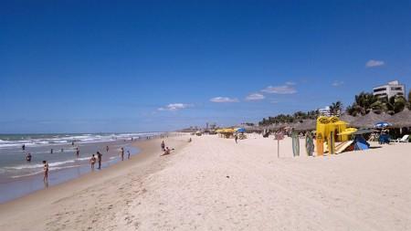Área das Barracas na Praia do Futuro - Fortaleza