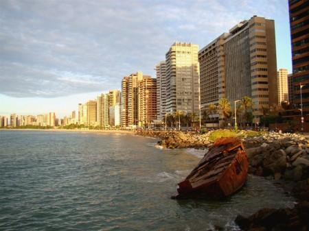 Fim de tarde na Av. Beira-Mar - Fortaleza