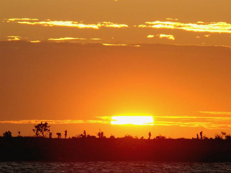 Pôr-do-sol visto do Espigão - Fortaleza CE