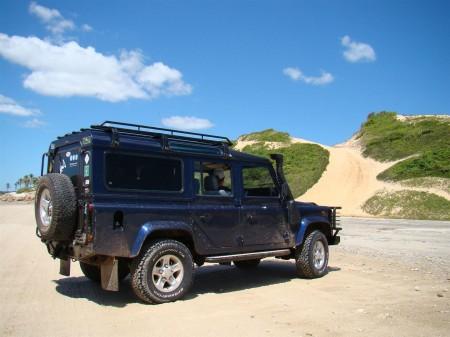 Um dia perfeito para um off-road pelas dunas