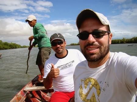 Em busca dos cavalos-marinhos no Rio Guriú