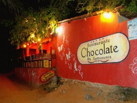 Restaurante Chocolate Alta Gastronomia em Jericoacoara