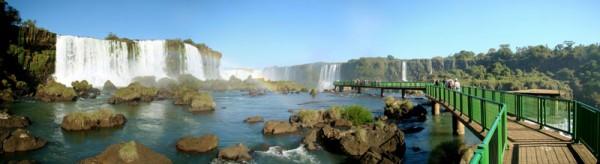 Panorâmica das Cataratas do Iguaçu - Foz do Iguaçu