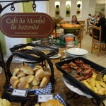Café da Manhã do Hotel Estanplaza Ibirapuera