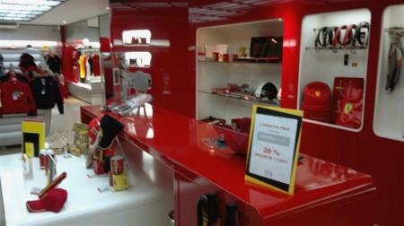 Loja da Ferrari na SAX Department Store