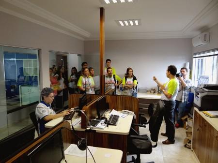 BlogTurFoz visitando a Agência Loumar Turismo