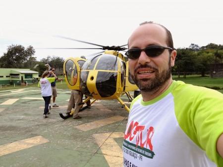 Voo de Helicóptero nas Cataratas do Iguaçu - EU FUI!!!