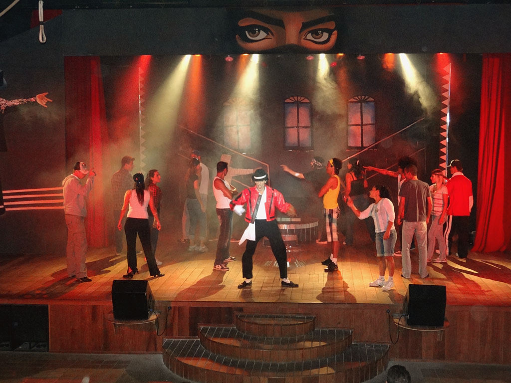 Show Cover do Michael Jackson - Club Med Trancoso