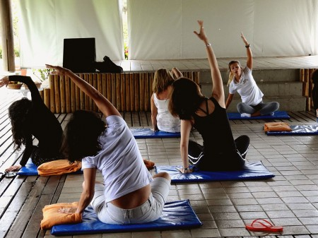 Momento relax com Yoga - Club Med Trancoso