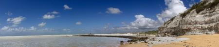 Panorâmica da Praia do Espelho - Trancoso Bahia