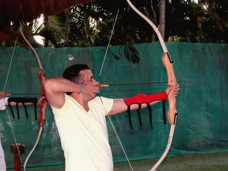 Arco e Flecha é apenas uma das muitas atividades no Club Med Trancoso