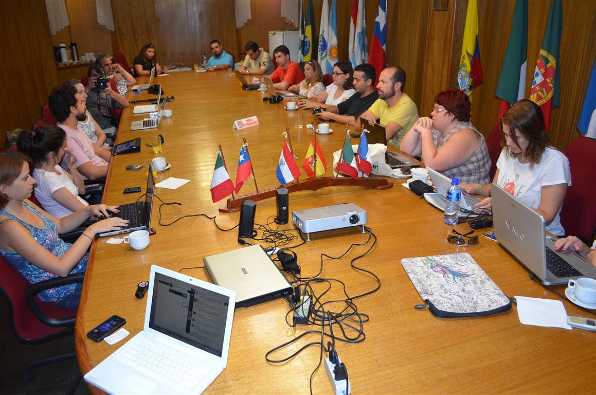 Debate dos Blogueiros durante o BlogTur em Foz do Iguaçu