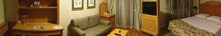 Panorâmica do Quarto do Hotel Estanplaza Ibirapuera