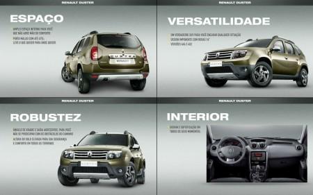 Espaço, Versatilidade e Robustez do novo Renault Duster
