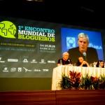 Kristinn Hrafnsson, porta-voz do Wikileaks no BlogMundoFoz