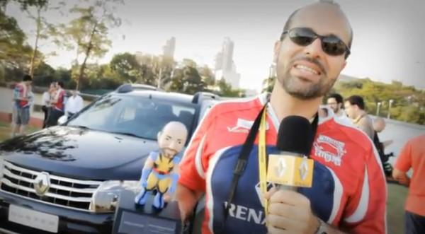 Maurício Oliveira falando sobre o novo Renault Duster