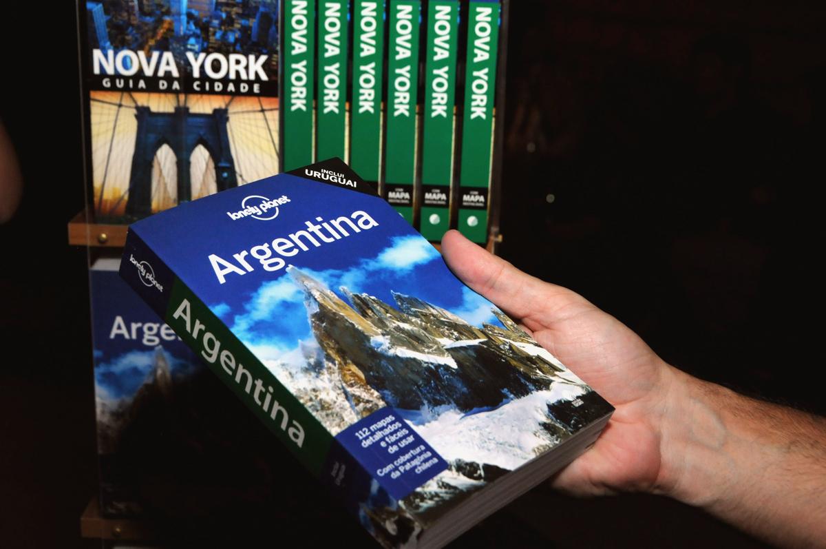 Com o Guia Lonely Planet Argentina na mão! - Divulgação: Globo Livros