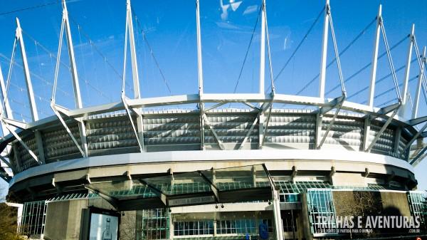 Estádio BC Place em Vancouver