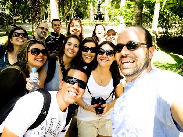 Galera do #EncontraoRJ no Jardim Botânico - RJ