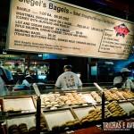 O Bagel é como os nossos Donuts. Deliciosos!