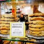 Cookies gigantes no Mercado Público