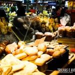 Pães doces e salgados