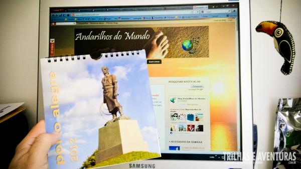 Calendário de 2012 de Porto Alegre - RS