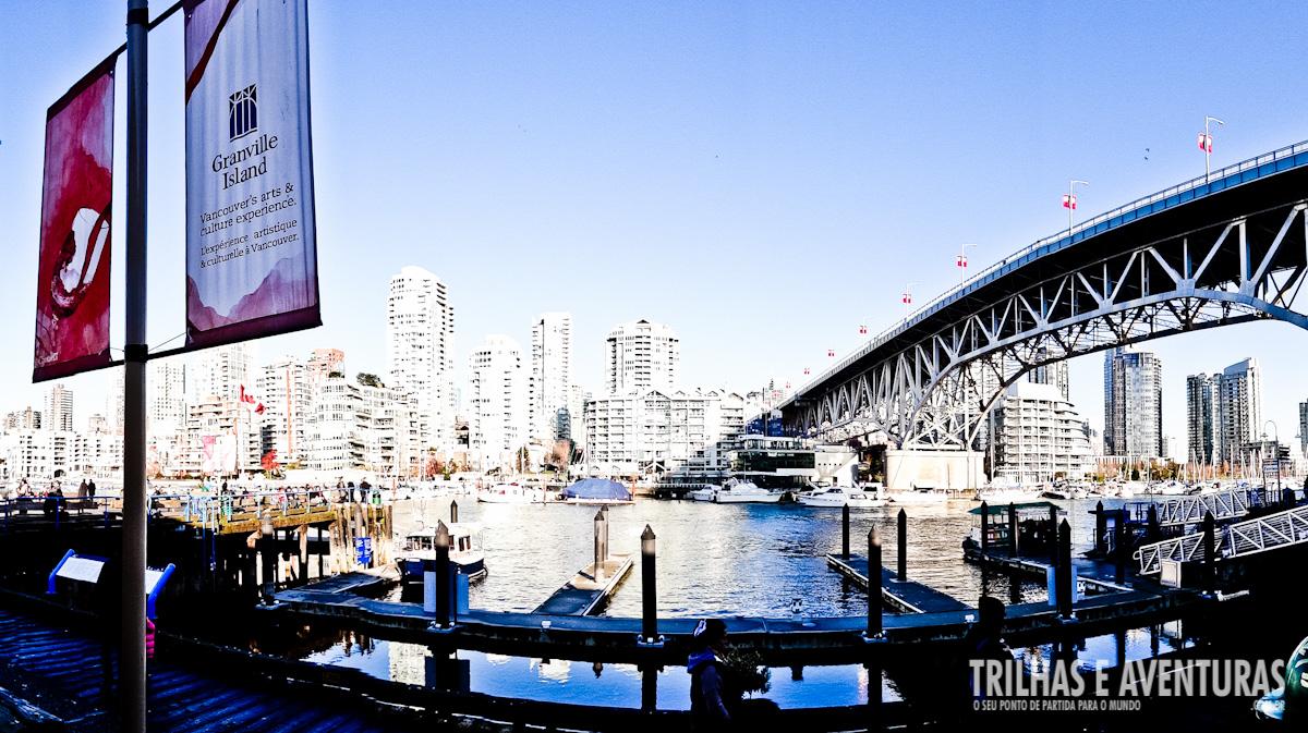 Fazer uma visita a Granville Island é um passeio obrigatório em Vancouver