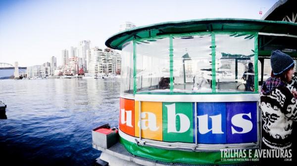 Utilize os serviços do Aquabus para explorar Vancouver
