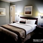 Visual do quarto no St. Regis Hotel